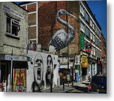 London 127 Metal Print by Lance Vaughn
