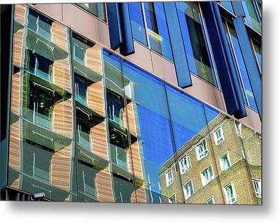 London Bankside Architecture 3 Metal Print