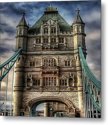 Metal Print featuring the photograph London Bridge by Digital Art Cafe