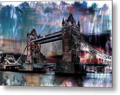 Tower Bridge Metal Print by Gull G