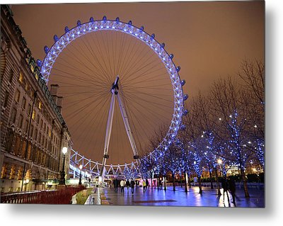 Metal Print featuring the photograph Big Wheel by David Chandler
