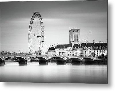 London Eye Metal Print by Ivo Kerssemakers