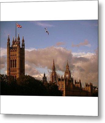 #london #parliamenthouse #westminster Metal Print