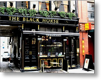 London Pub Metal Print