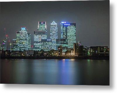 London Skyline Metal Print by Ian Hufton