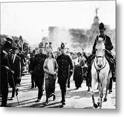 London: Suffragettes, 1914 Metal Print by Granger