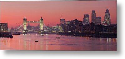 London Thames Metal Print