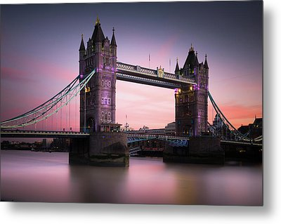 London, Tower Bridge Sunset Metal Print by Ivo Kerssemakers