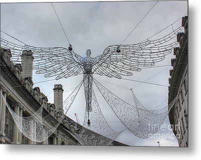 London's Angel Metal Print