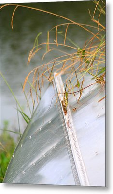 Lone Canoe Metal Print by Greg Sharpe
