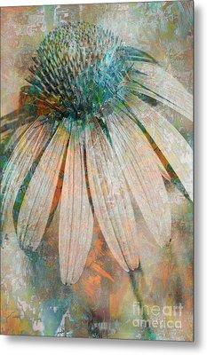 Lone Coneflower Metal Print by T Anderson