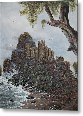 Lonely Castle Metal Print