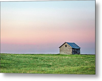 Lonely Old Shed Metal Print by Todd Klassy