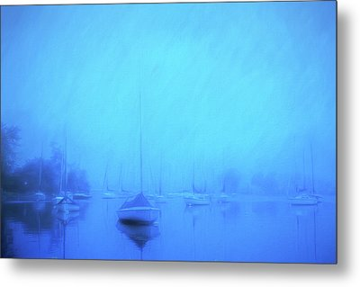 Metal Print featuring the photograph Lonesome Harbor by Joel Witmeyer