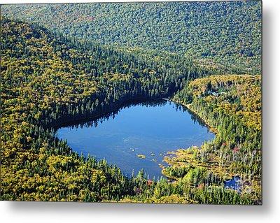 Lonesome Lake - White Mountains New Hampshire Usa Metal Print by Erin Paul Donovan