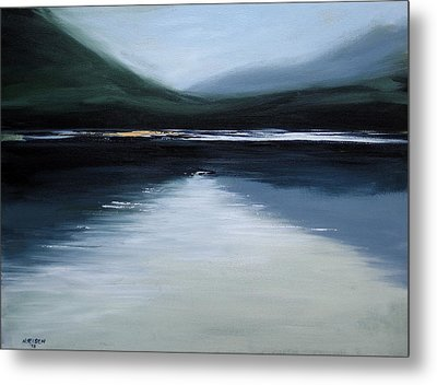 Lonesome Lake Metal Print