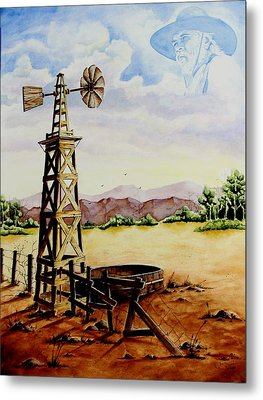 Lonesome Prairie Metal Print by Jimmy Smith