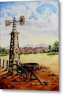 Lonesome Prairie Metal Print