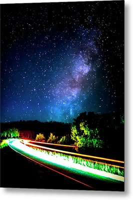 Metal Print featuring the photograph Lonesome Texas Highway by David Morefield