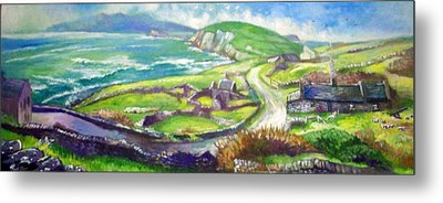 Long And Winding Road Metal Print by Paul Weerasekera