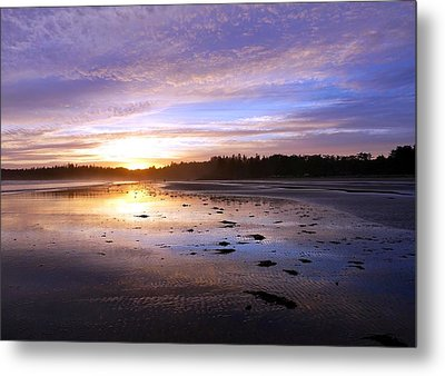 Long Beach, British Columbia Metal Print by Heather Vopni