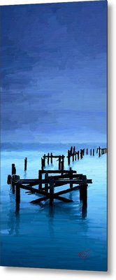 Metal Print featuring the painting Long Gone by James Shepherd