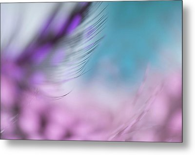 Metal Print featuring the photograph Long Lashes. Angels Flight Series by Jenny Rainbow