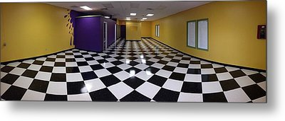 Metal Print featuring the digital art Long Perspective by Digital Art Cafe