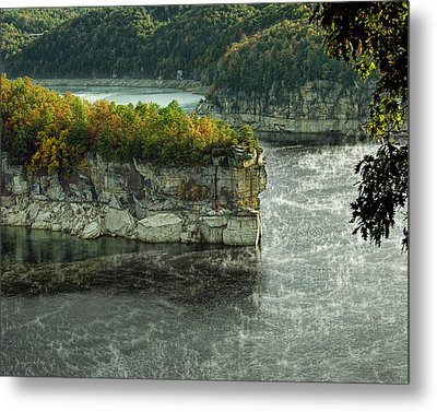 Long Point Clff Metal Print