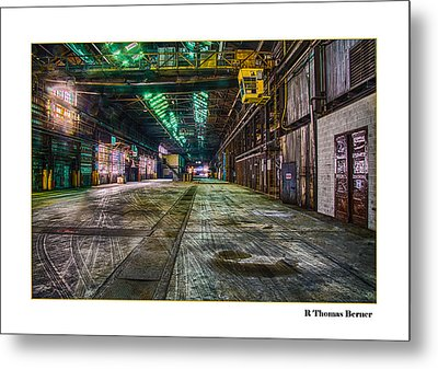 Metal Print featuring the photograph Long View by R Thomas Berner