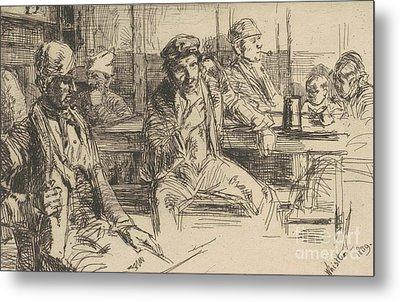 Longshoreman, 1859 Metal Print