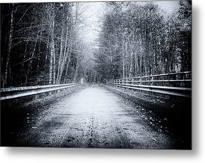 Lonliness Highway Metal Print by Spencer McDonald