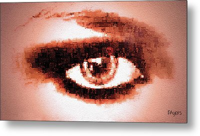 Look Into My Eye Metal Print by Paula Ayers