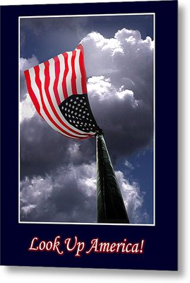 Look Up America Metal Print by Richard Gordon