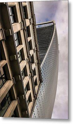 Look Up Metal Print by David Warrington