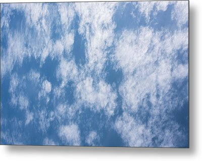 Look Up Not Down Clouds Metal Print by Terry DeLuco