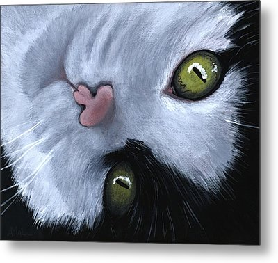 Looking At You Metal Print by Anastasiya Malakhova