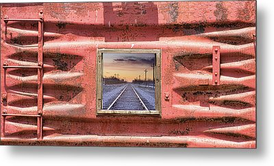Metal Print featuring the photograph Looking Back by James BO Insogna