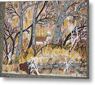 Metal Print featuring the painting Looking For Love by Jeffrey Koss