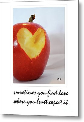 Metal Print featuring the photograph Looking For Love by Traci Cottingham
