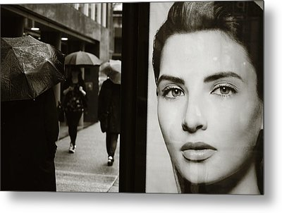 Metal Print featuring the photograph Looking For Your Eyes by Empty Wall