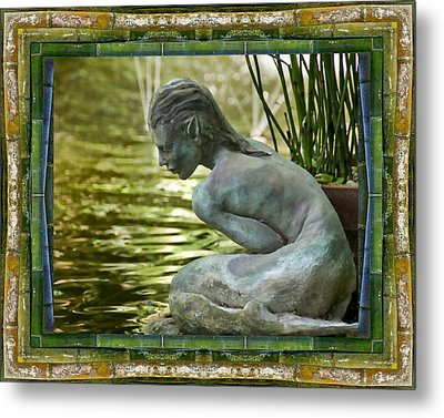 Looking In Metal Print by Bell And Todd