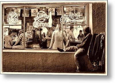 Metal Print featuring the photograph Looking In by Steve Siri