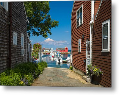 Looking Rockport Metal Print