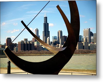 Metal Print featuring the photograph Looking Through by Sheryl Thomas