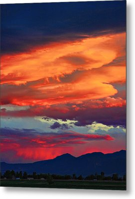 Looking To Boulder Metal Print by James BO  Insogna