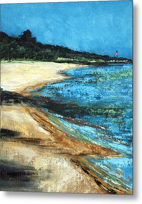 Metal Print featuring the painting Looking Toward Old Glory by Suzanne McKee
