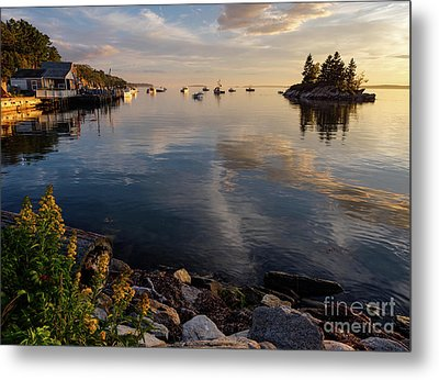 Lookout Point, Harpswell, Maine  -99044-990477 Metal Print