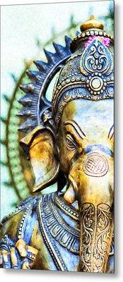 Lord Ganesha Metal Print by Tim Gainey