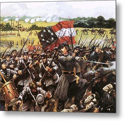 Loreta Janeta Velasquez Who Fought With The Confederate Army Metal Print